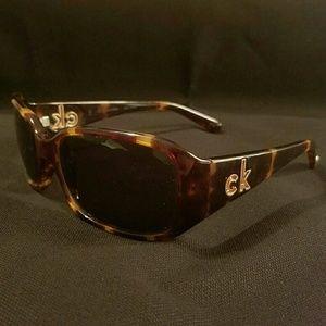 Calvin Klein Tortoiseshell Sunglasses